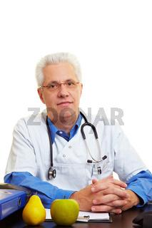 Geduldiger Arzt