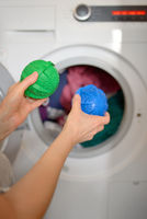 Laundry eco washing spheres