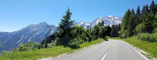 Rossfeldpanoramastrasse, Berchtesgadener Alpen