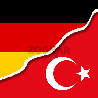 Riss zwischen Deutschland und der Türkei