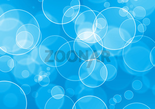 abstract water bubble