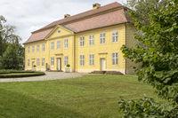 Drei-Königinnen-Palais auf der Schlossinsel Mirow, Mecklenburg-Vorpommern