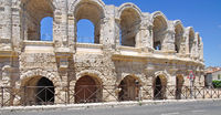 das Amphitheater in Arles,Provence,Frankreich