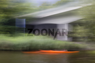Rotes Boot, red boat