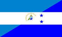 nicaragua honduras flag