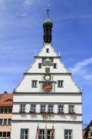 Old Town Hall of Rothenburg ob der Tauber
