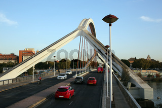 Barqueta-Brücke über den Guadalqivir