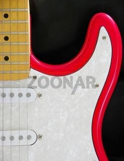 E-Gitarre, detail