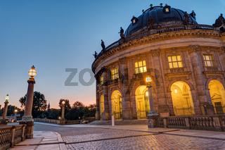 Das Bodemuseum auf der Museumsinsel in Berlin