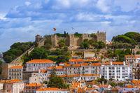 Fortress of Saint George - Lisbon Portugal