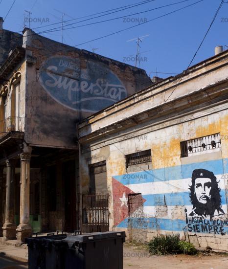 Drehort in Havanna,Kuba