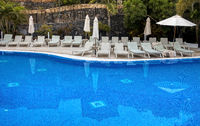 am Swimmingpool