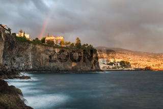 Rainbow over the city of Funchal