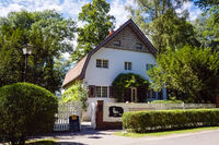 Brecht-Weigel-Haus in Buckow (Märkische Schweiz), Brandenburg, Deutschland