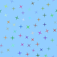 Colorful Star Seamless Pattern
