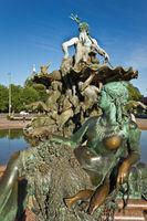 Neptunbrunnen am Alexanderplatz Berllin