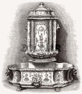 Faience de Moustiers Sainte-Marie, France, 19th century