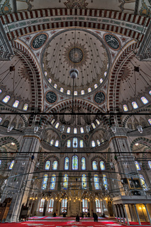 Fatih Mosque, a public Ottoman mosque in the Fatih district of Istanbul, Turkey