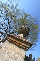 Skulptur bei Schloss Seehof
