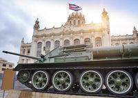 Revolution museum. Cuba. Havana.