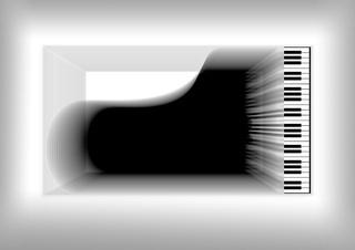 Abstrakt Klavier