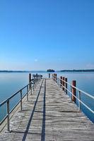 in Ploen am Grossen Ploener See,Holsteinische Schweiz,Deutschland