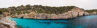 Panorama of Cala des Moro