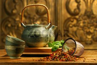Asian herb tea