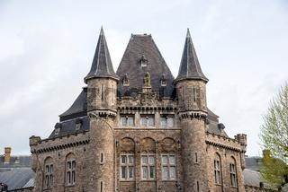 Leopold Barracks - one of belgian ghotic landmark in Gent, Belgium.