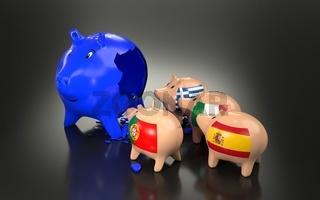 European union economy and finance concept