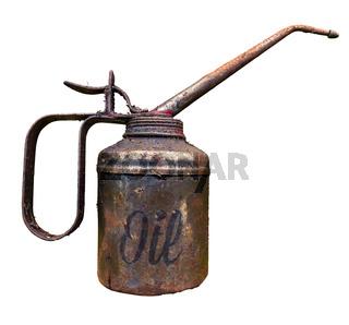 Vintage Oil Can