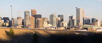 Mile High City Denver Colorado Downtown Skyline