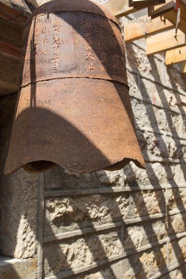 Bronze temple bell