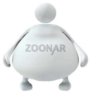White Fat Figure