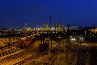 Rangierbahnhof Halle/Saale