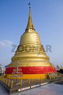 Buddha statue at Golden Mount in Bangkok