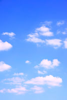 Summer sky with clouds