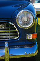 Front of a Volvo Amazon car
