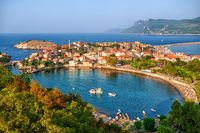 Amasra town on the Black sea coast, Turkey