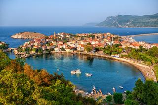 Amasra town on the Black sea coast, Turkey