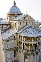 Famous and beautiful Cathedral Duomo di Pisa