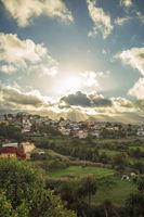 Himmel mit Sonne auf Gran Canaria