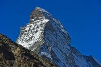 Hörnligrat am Matterhorn, Zermatt, Wallis, Schweiz