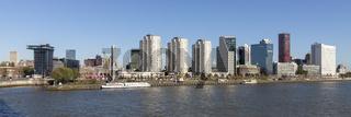 Skyline am Boompjeskai Rotterdam