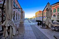 Prokurative square in city of Split