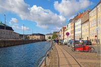 Gammel strand on the Slotsholmens Canal  in Copenhagen