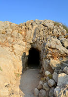 Rethymno Fortezza fortress cave