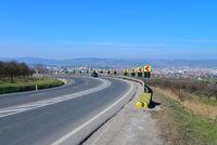 sibiu asphalt road