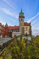 Hruba Skala Castle in Bohemia paradise - Czech republic