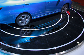 Detail of Car Wheel